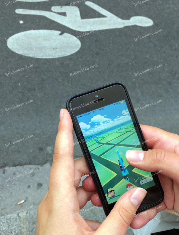 Risques d'accidents Pokemon Go