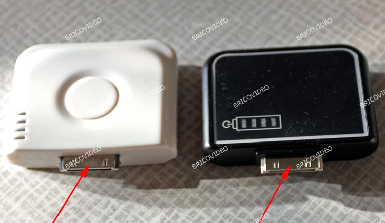 connecteur chargeur de batterie portable