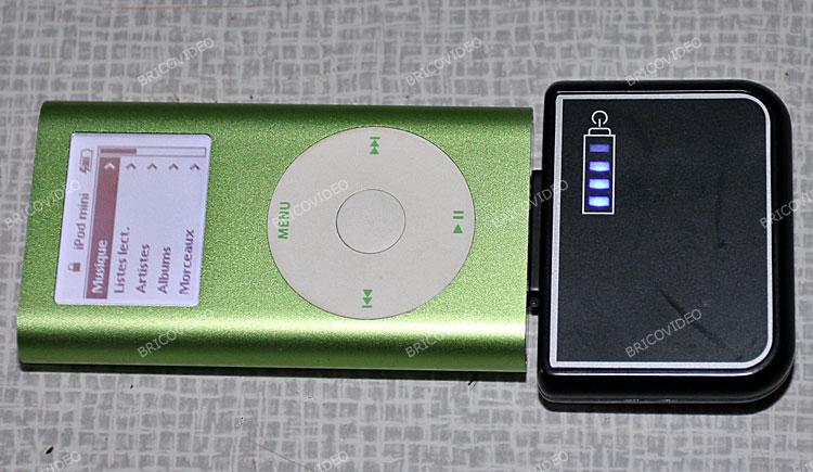 ipod chargeur de batterie portable