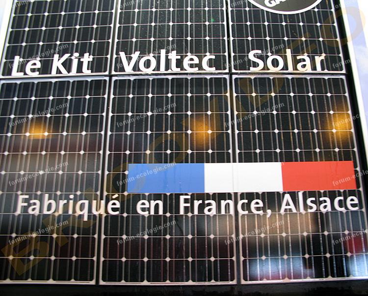 kit installation panneaux solaires