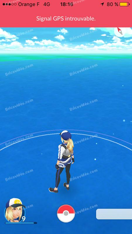 plus de signal Pokemon Go