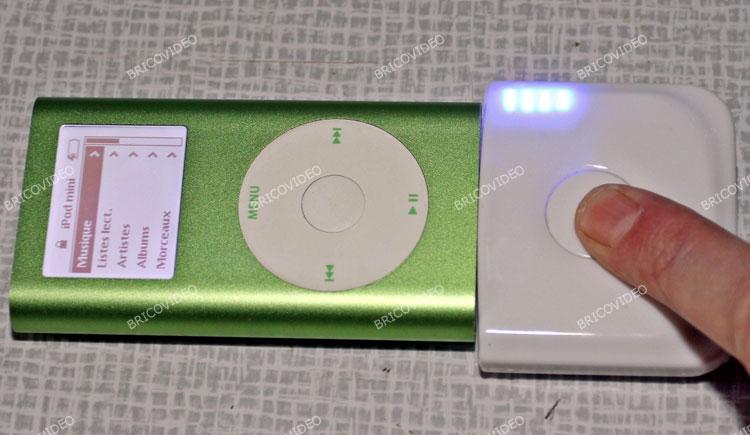 test chargeur de batterie